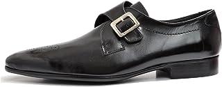 VITELO Men's Classic Monk Leather Shoes M 47