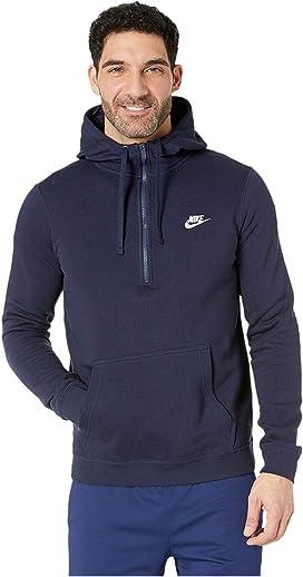 6237e8fe68071a Nike. Club Fleece Pullover Crew.  37.10MSRP   40.00. Sportswear 1 2 Zip  Hoodie