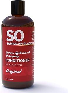 Sponsored Ad - SO Jamaican Black Castor Oil Extreme Hydration & Detangling Shampoo   Prevent Hair Damage   Get Silky, Sof...