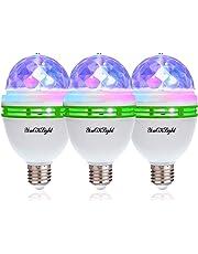 YouOKLight ミニレーザーステージ照明 カラフルミラーボールLED電球 口金直径26mm 3W RGB ステージ/ディスコ/パーティー/KTV/カラオケ/クラブ/バー照明用ライト