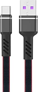 USB Type C Charger Cable (3.3FT)) Nylon Braided Cord High Speed Durable Sync and Fast Charging Cable Compatible with Samsu...
