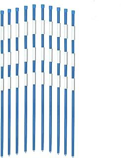 solid fiberglass pole