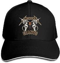 KYLE RICE James Hetfield Outdoor Ball Cotton Sanpback Cap Hat Adjustable Black