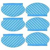 SWAWIS Juego de 6 paños de limpieza compatibles con Ecovacs Deebot OZMO 950 OZMO 920 OZMO 905