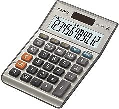 Casio Ms-120bm 12-digit Calculator Tax Dual Powermetal Cover Ms120bm