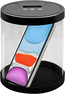 Timer Lock Container,Multi-Function Phone Time Lock Box, to Prevent Dependence on Smartphone,Ideal for Quitting Smoking, Wine, Candy, Excessive Playing of Smartphones and Games