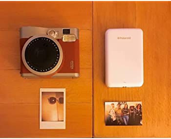 Zink Polaroid ZIP Wireless Mobile Photo Mini Printer (White) Compatible w/ iOS & Android, NFC & Bluetooth Devices