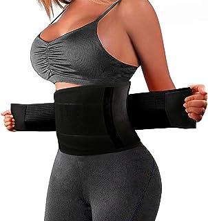 comprar comparacion Tencoz Waist Trainer, Cinturón Abdominal Cinturón para el Sudor para la Quema de Grasa Cintura Ajustada Corsé Correa de Ej...