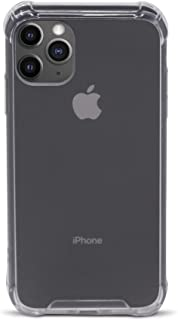 Speira Transparent Clear Case for iPhone 11 Pro [Hard Back Cover with Reinforced Corners], [Anti-Discoloration] [No-Slip Grip] (Crystal Clear)