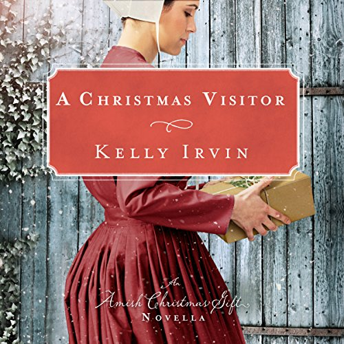 A Christmas Visitor audiobook cover art