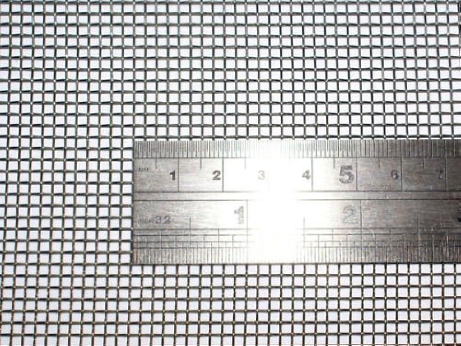 説明誓約災難産業用金網 ステンレス平織金網 線径0.60mm:10メッシュ 開目1.98mm[幅600mm×高1000mm]