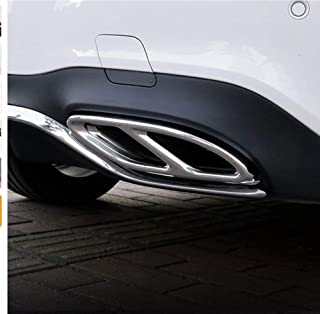 Lorsoul Auto Start Stop del Motore Interruttore di Carbonio Pulsante Fibra di Sostituzione della Copertura per Il Mercedes Benz W205 GLC x253 Nero