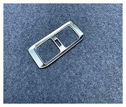 JIS Ajuste para Toyota RAV4 RAV 4 2019 2020 Accesorios de Acero Accesorios Caja DE Armada del Air Aire ACONDICIBLE Trasero Cubierta DE Cubierta DE Freno DE OUTET MOLDADO Interior