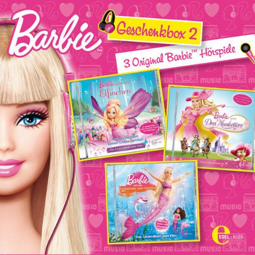 Barbie Geschenkbox 2 audiobook cover art