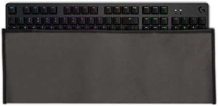 kwmobile Keyboard Cover for Logitech G512/G513 Carbon Tactile/Linear/GX Blue - Protective Skin Computer Keyboard Dust Cover Case - Dark Grey