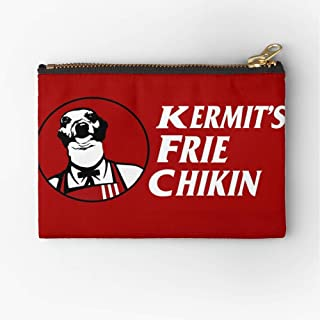 Frie Marbles Pouch Kermit Jenna Chikin Zipper Zipper Accessories Pencil Cosmetic Makeup Office Supplies and Travel Pouch
