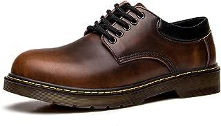 Men Academy Uniform Autumn Classic Genuine Leather Shoes Big Head Oxford