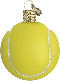 Old World Christmas Ornaments: Tennis Ball Glass Blown Ornaments for Christmas Tree