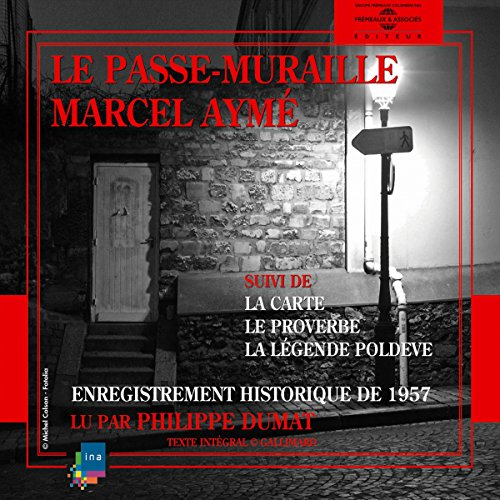 Le passe-muraille audiobook cover art