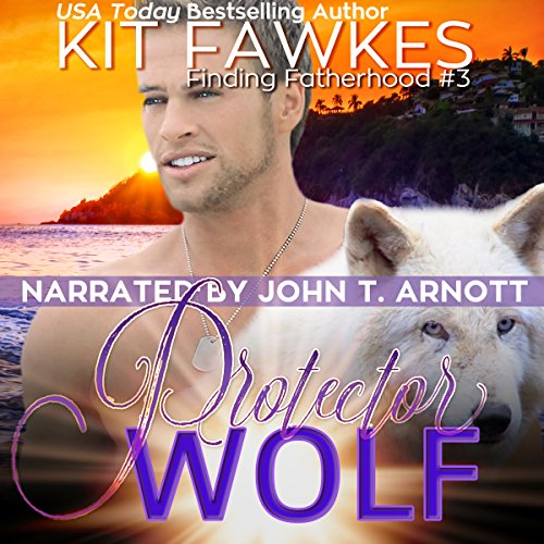 Protector Wolf audiobook cover art