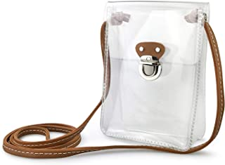 Clear Mini Cross Body Single Shoulder Bag for Stadium Approved