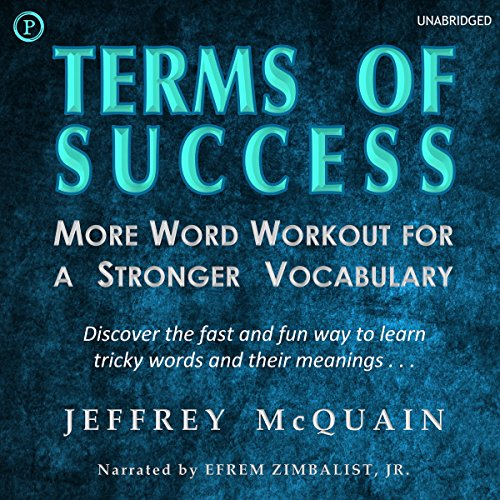 Terms of Success audiobook cover art
