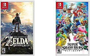 The Legend of Zelda: Breath of the Wild - Nintendo Switch Bundle with Super Smash Bros. Ultimate