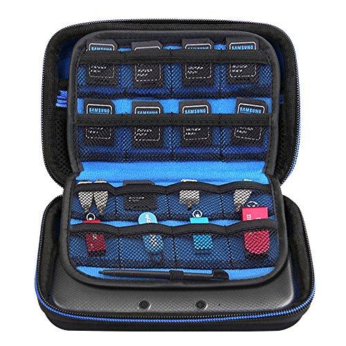 Simboom Tragetasche Schutzhülle für Neu Nintendo 3DS XL / Neu 3DS Hart Tasche Hülle Schützende Reise-Set Zubehör-Etui für Nintendo Konsole
