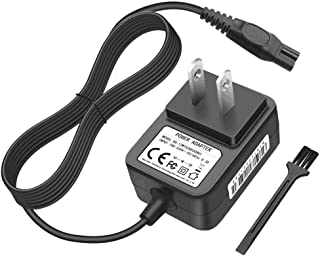 IBERLS DC 15V Philips Shaver Norelco HQ8505 Charger Power Supply Adapter Cord for Philips..