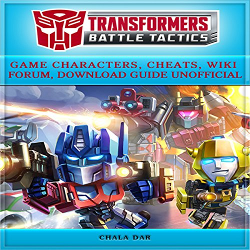 Transformers Battle Tactics audiobook cover art