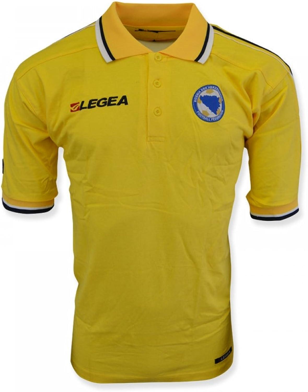 Bosnia 2014 Polo Shirt (Yellow)