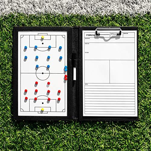 FORZA Coaching Tafeln │ (Wählen Sie Ihr Sport aus) │ 5 Taktische-Tafeln, die einfach zu abwischen sind│ Stifte Werden enthalten (A4 Coaching Tafel, American Football)