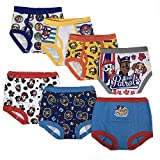Nickelodeon Toddler Boys' Paw Patrol 3pk Training Pants and 4pk Briefs,PAW multi,3T