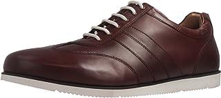 Manz - Zapatos de Cordones de Piel Lisa para Hombre Marrón marrón