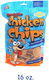 All Natural Chicken Chips- Dog Treats Made with USA Sourced Chicken