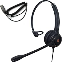 $81 » IPD IPH-250 Optimo-X Single Ear Noise canceling Corded Headset with HIS-02 Cable for Avaya IP 1608,1616, 9608G, 9611G,9610...