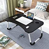 MULTIPURPOSE LAPTOP LAP DESK This laptop bed tray table is extremely practical,can be used as a laptop workstation, laptop table for bed, a children's bed table, a mini writing table, a standing table for office work, laptop couch table, or a book/ta...