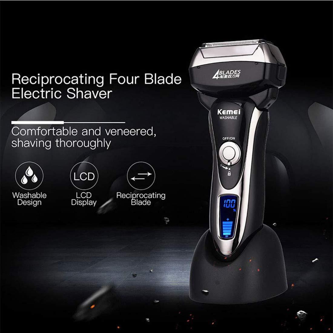 KLI 4-eléctrica de la Cuchilla de Afeitar de la Hoja Hombres ...