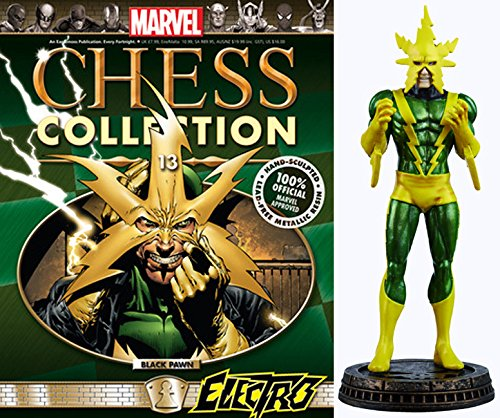 Marvel Chess Figurine Collection Nº 13 Electro