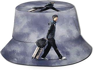 羽生結弦 はにゅう ゆづる Yuzuru Hanyu 漁夫帽 ハット キャッスポーツ帽子 カジュアルハット 登山 釣り 運動 ゴルフ 男女兼用