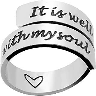 it is well with my soul ring