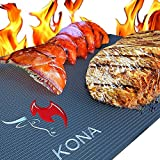 Kona Best BBQ Grill Mat - Heavy Duty 600 Degree Non-Stick...