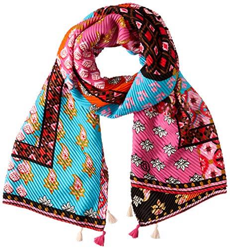 Desigual Sjaal Boho Patch 20SAWA15 3016 - paars - Unique