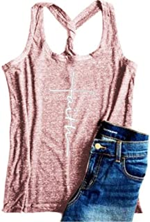 Summer Slim Short Top Women'S Sleeveless Vest Solid Color