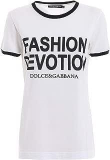 Dolce & Gabbana Women's Fashion Devotion T-Shirt White