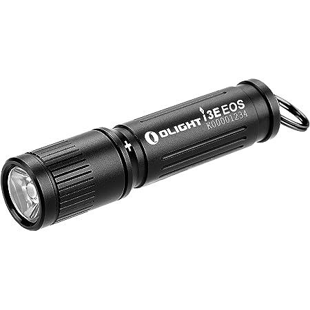 OLIGHT(オーライト) I3E EOS 懐中電灯 キーホルダーライト LEDライト ミニサイズ スムーズな調節 ねじ込み式スイッチ 90ルーメン ハンディー IPX8防水 小型 軽量 単4電池付き 停電対策 緊急用 キャンプ