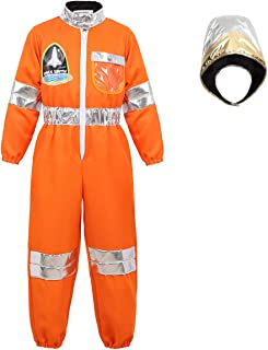 Astronaut Costume for Kids Space Suit Spaceman Helmet Role Play Dress Up Clothes for Boys Girls Toddlers