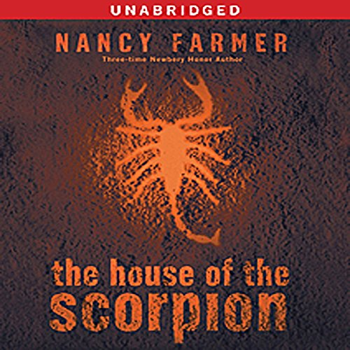 The House of the Scorpion audiobook cover art