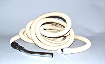 Central Vacuum Cleaner Hose Assembly 30Ft Crushproof Vacu-Maid/Vacuflo-Beige