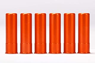 A-ZOOM 20 Gauge SNAP Cap, Orange, 6PK
